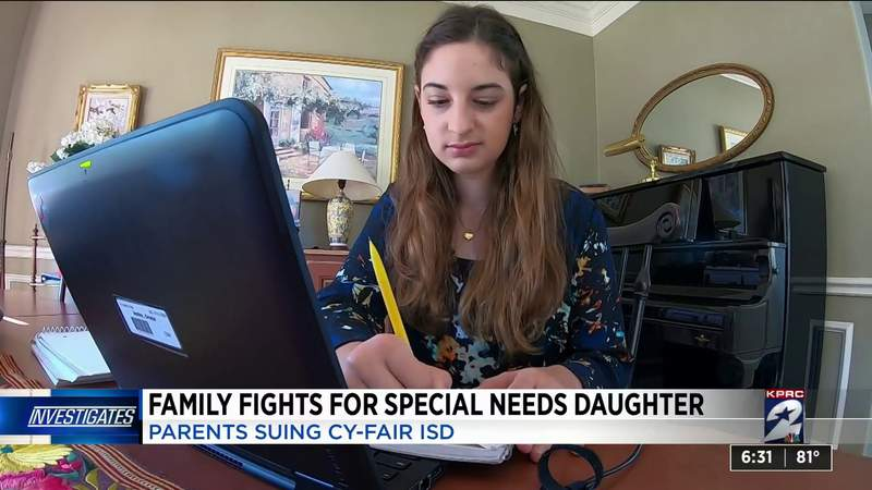 Family of special needs girl sues Cy-Fair ISD