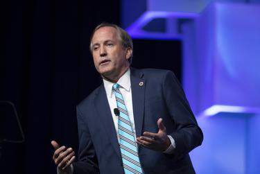 Texas Attorney General Ken Paxton was indicted in 2015 on felony securities fraud charges, but has yet to go to trial.      Bob Daemmrich for The Texas Tribune
