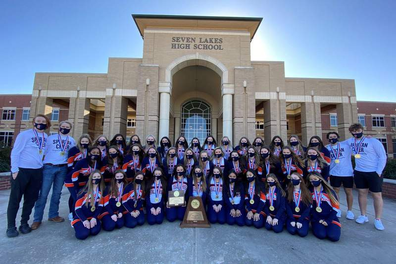 Katy ISD Seven Lakes High School Cheer  Wins State