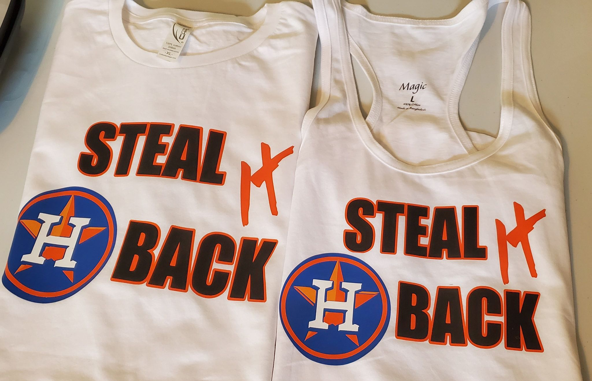 'Steal it back:' Check out the creative swag these proud Astros fans are showing off