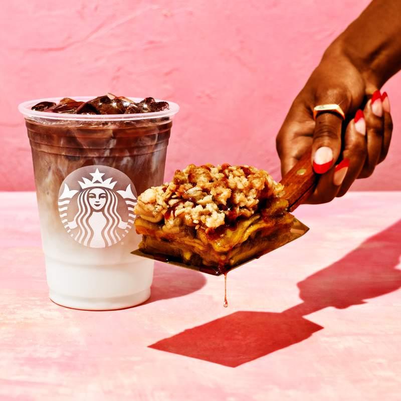 Fall 2021 items from Starbucks.