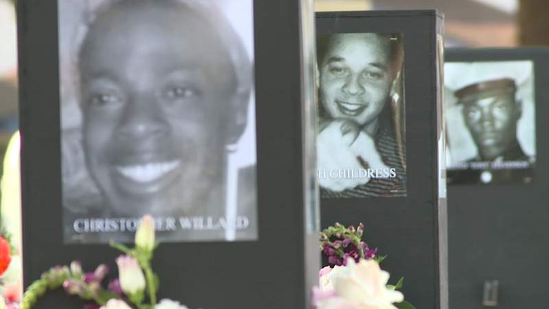 Activist Trae Tha Truth, Mayor Turner help unveil 'Say Their Names' traveling memorial exhibit honoring Black lives lost