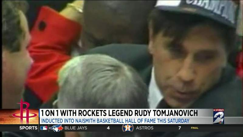 Rudy Tomjanovich talks to KPRC 2 about his upcoming Basketball Hall of Fame induction