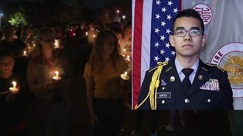 Family members identified the teenager shot and killed on Tuesday at Bellaire High School as 19-year-old Cesar Corte