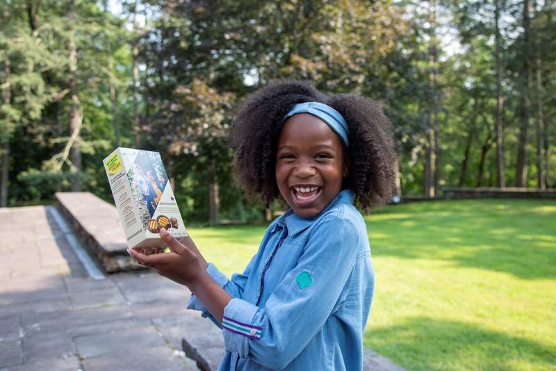 Girl Scouts announced that the new Adventurefuls cookie will join its nationwide lineup for the 2022 Girl Scout Cookie season. An indulgent brownie-inspired cookie with caramel-flavored crème and a hint of sea salt, Adventurefuls take cookie lovers on a delicious taste adventure just like Girl Scouts go on their own amazing adventures through the program. Visit www.girlscoutcookies.org to sign up to be notified as soon as Adventurefuls and other Girl Scout Cookies are on sale in your area.