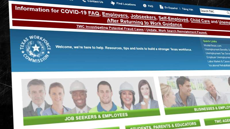 Texas Workforce Commission cuts off benefits for some after claim of 'overpayment'