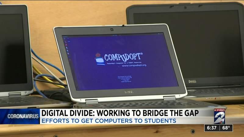 Digital divide: Working to bridge the gap