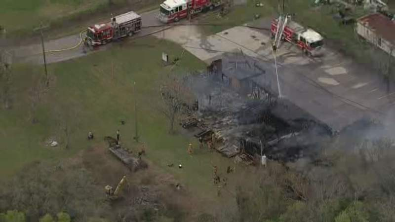 Plumbing work sparks fire that destroyed church in Clute