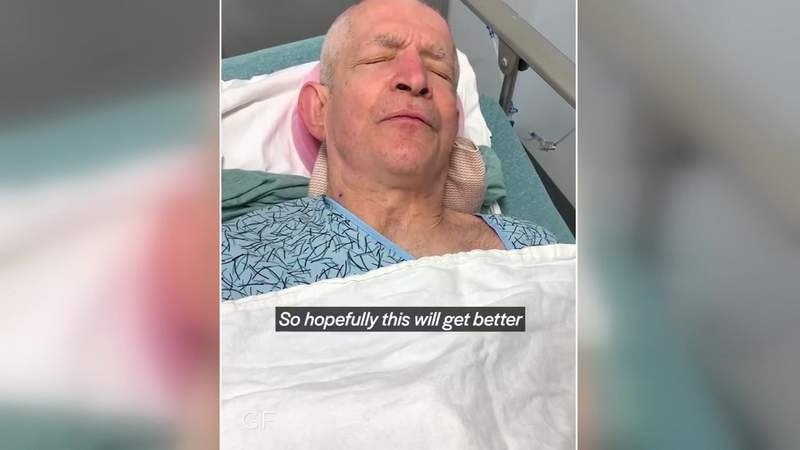 Mattress Mack recovering from neck procedure, posts video from hospital bed