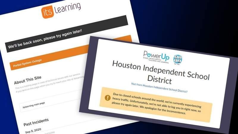 More technical issues for HISD on day 2