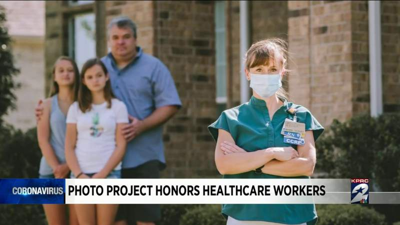 Photo project honors healthcare workers