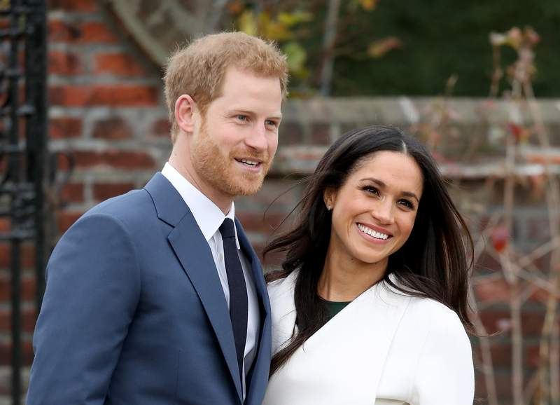 Prince Harry and  Meghan Markle in 2017.  (Photo by Chris Jackson/Chris Jackson/Getty Images)