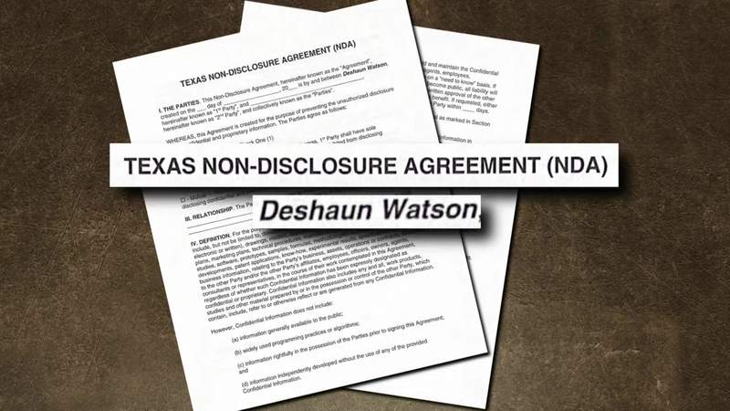 A portion of the document provided to KPRC 2 by sources is highlighted in this graphic.