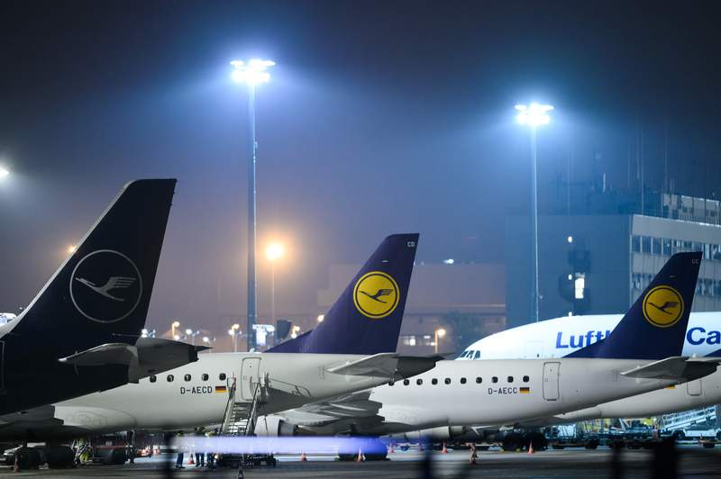Lufthansa Group is cutting its capacity by up to half.