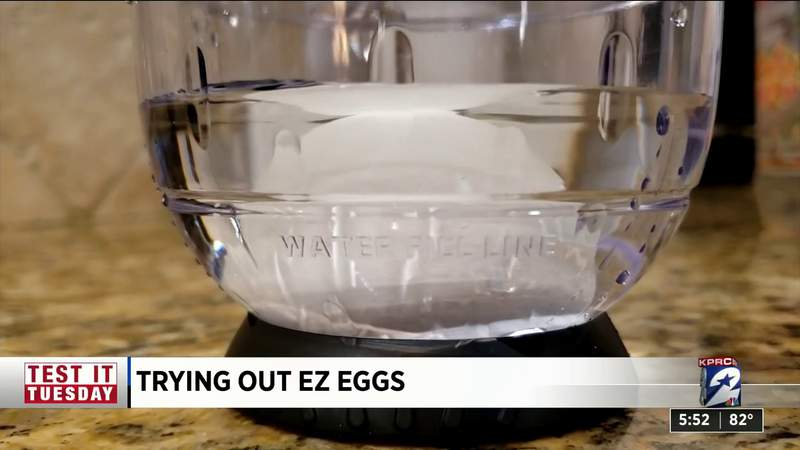 Test it Tuesday: Can EZ Eggs shake the shells right off hard boiled eggs?