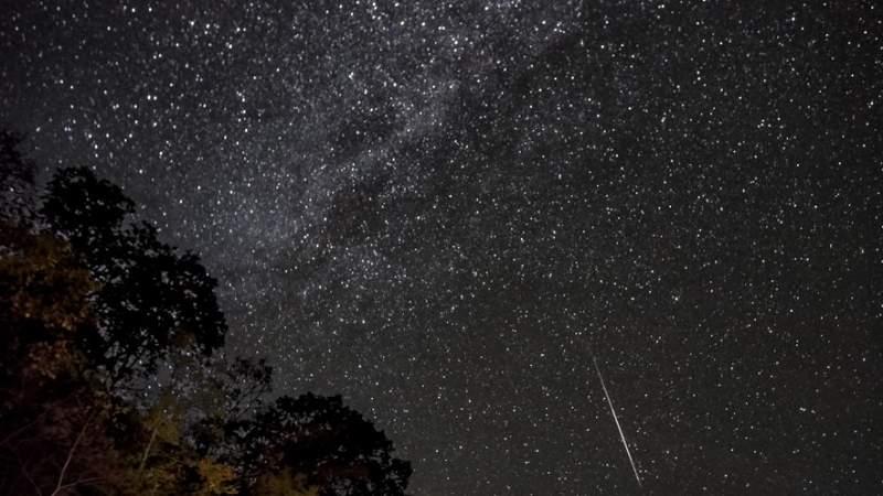 Orionid meteor shower.