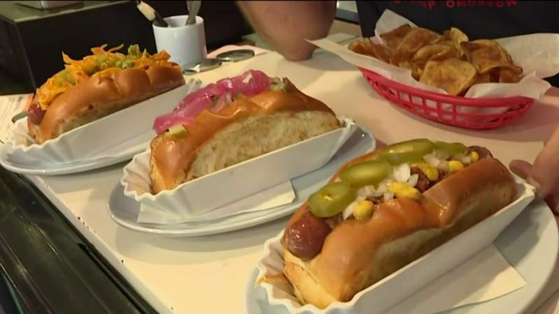 Celebrating National Hot Dog Day at Good Dog Houston in the Heights | HOUSTON LIFE | KPRC 2