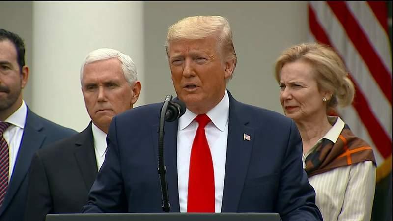 COVID-19 pandemic response: Trump declares emergency; Pelosi announces aid deal