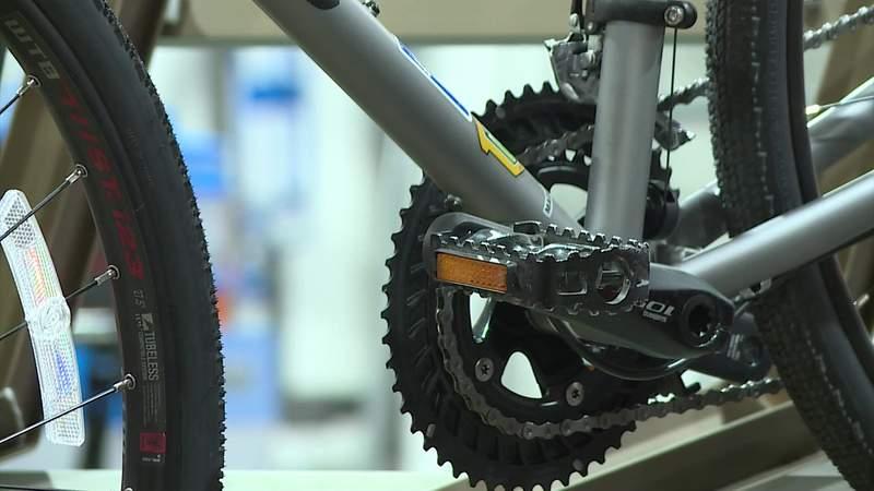 Track bike thefts across Houston