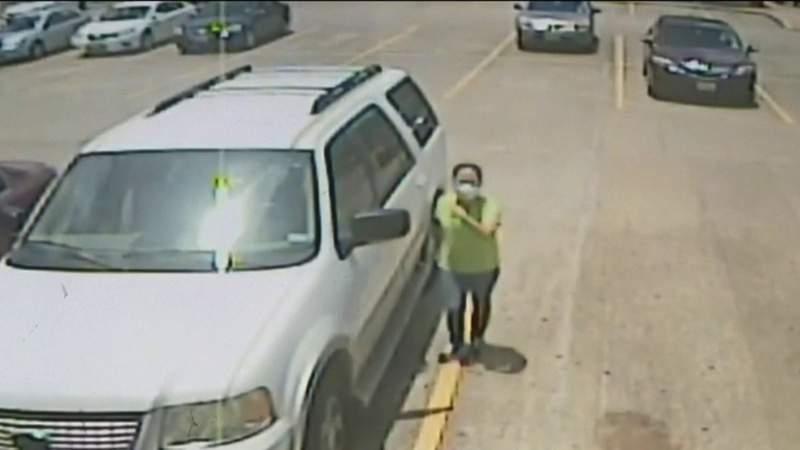 Good Samaritan rush to save boy left inside hot SUV