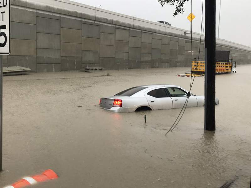 Spencer hwy and Beltway 8 on May 15