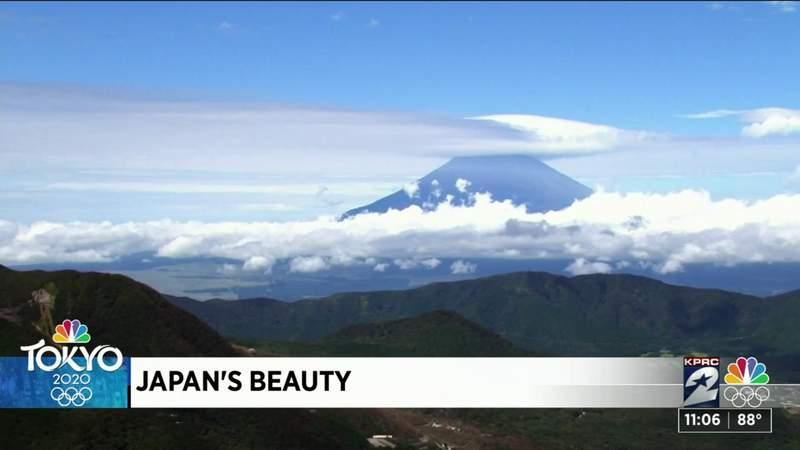 KPRC 2's Rose-Ann Aragon experiences Tokyo's beauty ahead of the Olympics