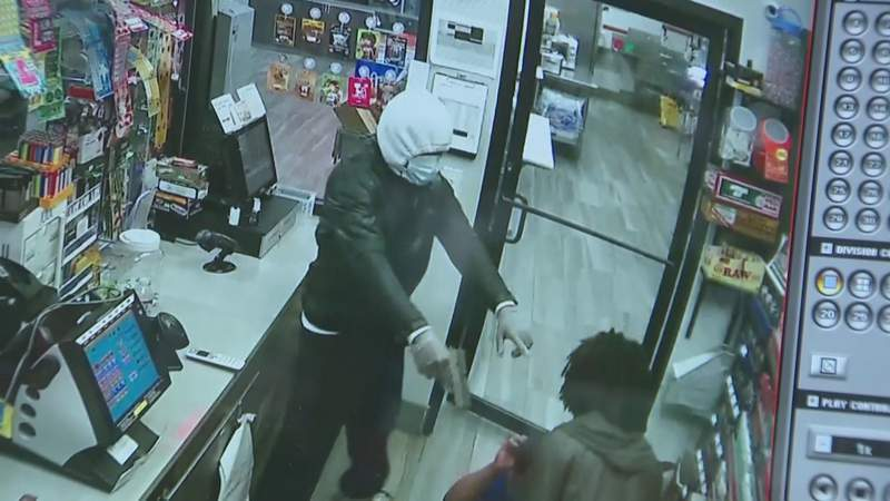 Gas Station Employees Held at Gunpoint During Robbery
