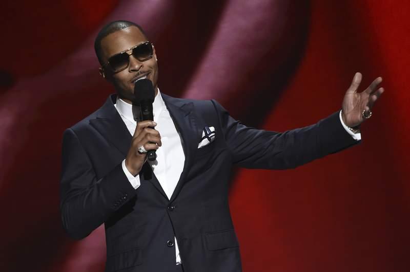 T.I. onstage at the 51st NAACP Image Awards at the Pasadena Civic Auditorium on Saturday, Feb. 22, 2020, in Pasadena, Calif. (AP Photo/Chris Pizzello)