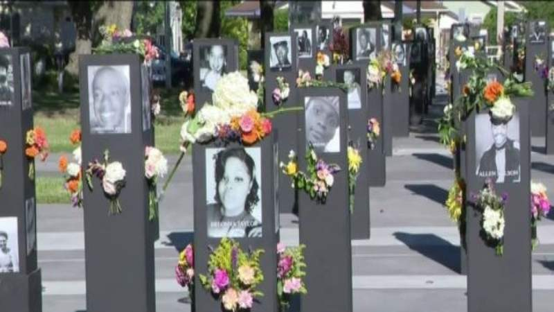 'Say Their Names' Traveling Memorial open to the public