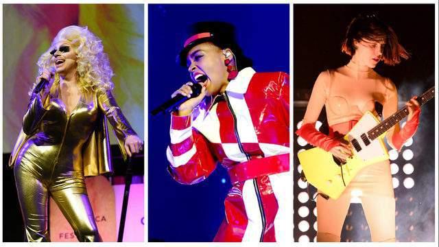 Trixie Mattel, Janelle Monae and St. Vincent.