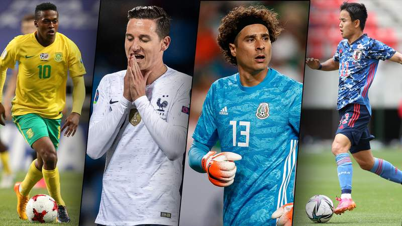 Take a closer look at the rising stars and established players representing Japan, France, Mexico and South America in Group A of the Tokyo Olympics men's soccer tournament.