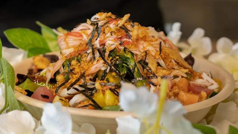 Island Fin Poké offers a menu of authentic Hawaiian poké.