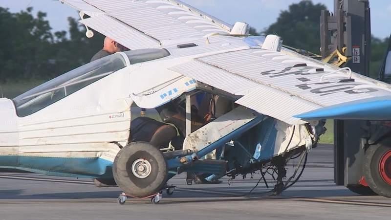 Husband DIes in Plane Crash, Wife in Hospital