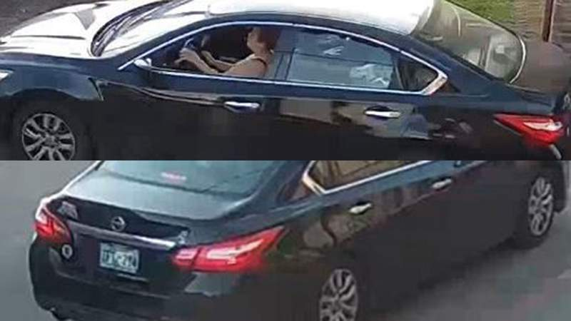 Photos of a suspected hit-and-run driver have been released in hopes someone will identify the person who left a bicyclist injured on April 5 in north Houston.