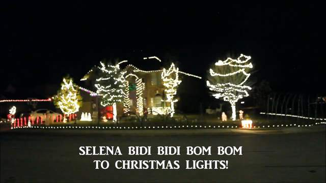 When Is The Christmas Parade In Boerne Texas 2020 Boerne family syncs Christmas lights to Selena's 'Bidi Bidi Bom Bom'
