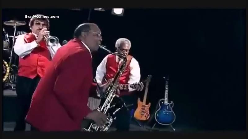 Saxophonist Grady Gaines Remembered