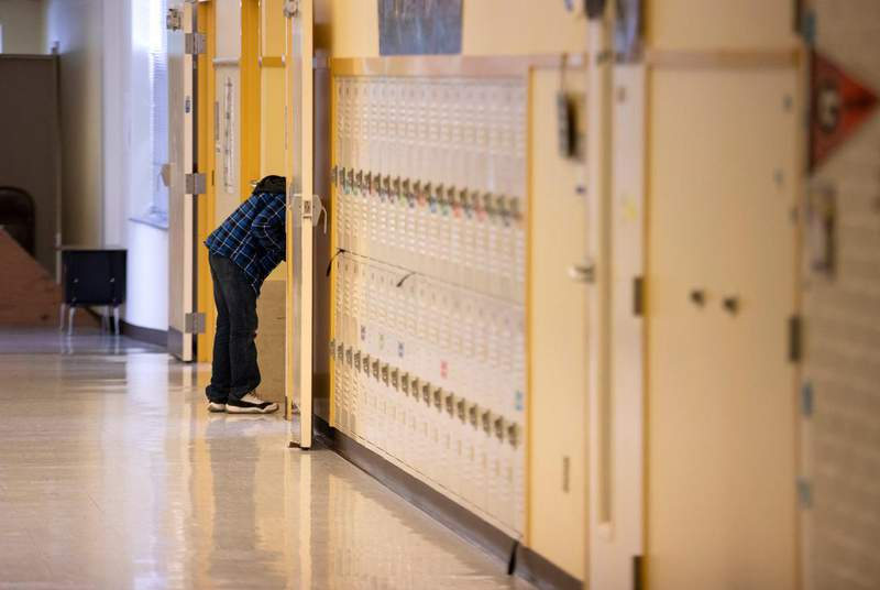The State Board of Education took a preliminary vote on Wednesday to approve a new sex education policy for seventh and eighth grade students in Texas. (Credit: Miguel Gutierrez Jr./The Texas Tribune)