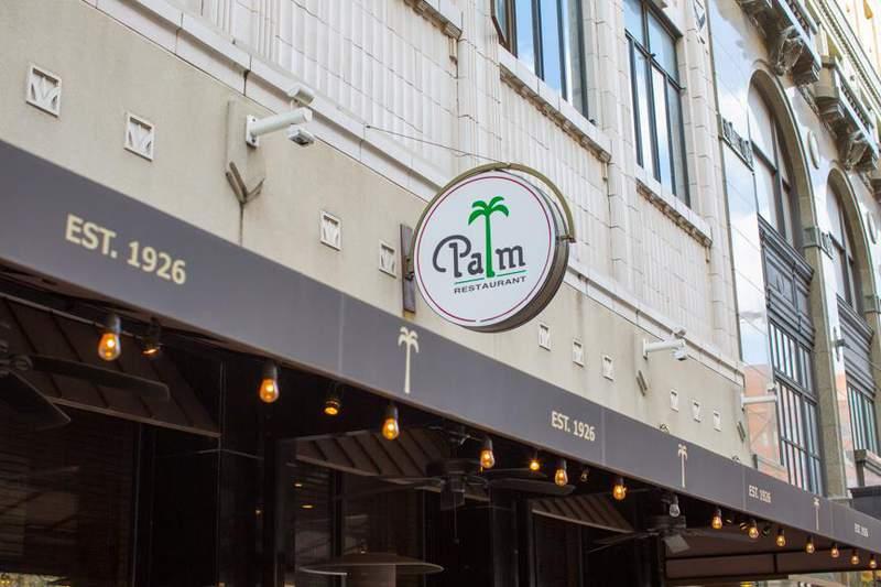 The Palm restaurant located in San Antonio, Texas.