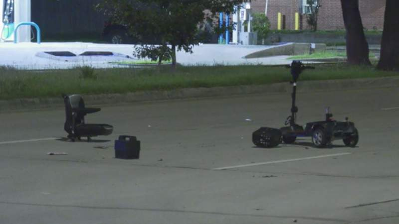 HPD: Man struck by car while riding scooter in southeast Houston