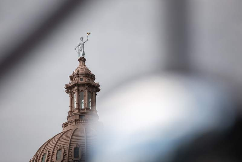 The Texas state capitol in Austin, on May 17, 2021.