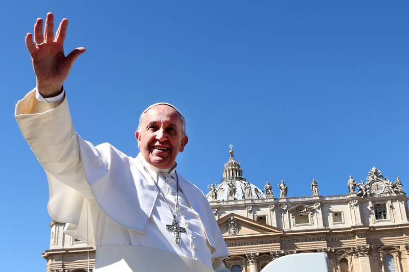 Pope Francis will be live-streaming his Easter Sunday Mass service on YouTube.
