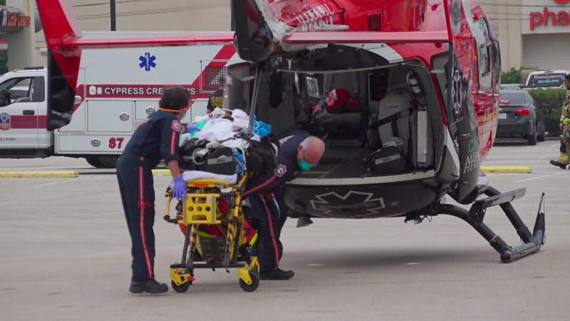 Child in critical condition after near-drowning in Spring