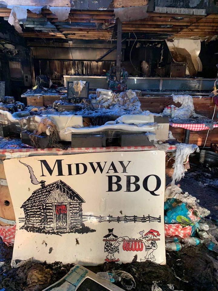 'We are still in complete shock': Katy restaurant Midway BBQ destroyed in weekend blaze
