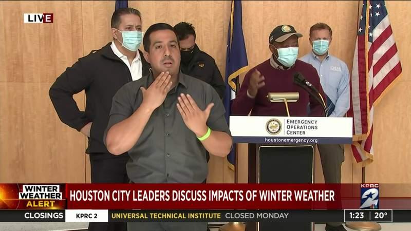 Mayor Turner provides winter storm update