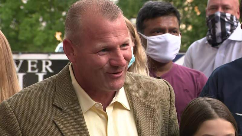 'We overcame.' Sheriff Troy Nehls declares victory over Kathaleen Wall in race for GOP ticket for District 22