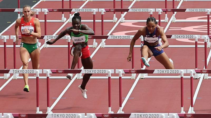 Follow along with results and highlights from each event as the heptathlon unfolds in Tokyo.