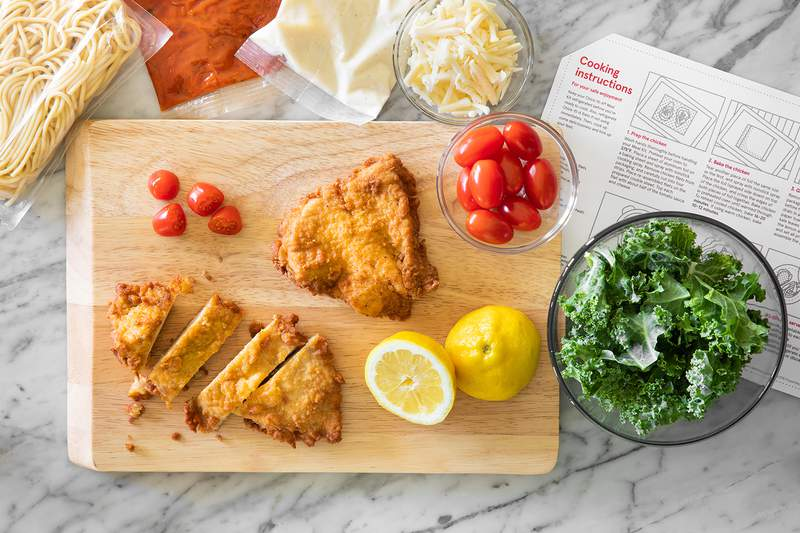 Chick-fil-A's chicken parmesan meal kit.