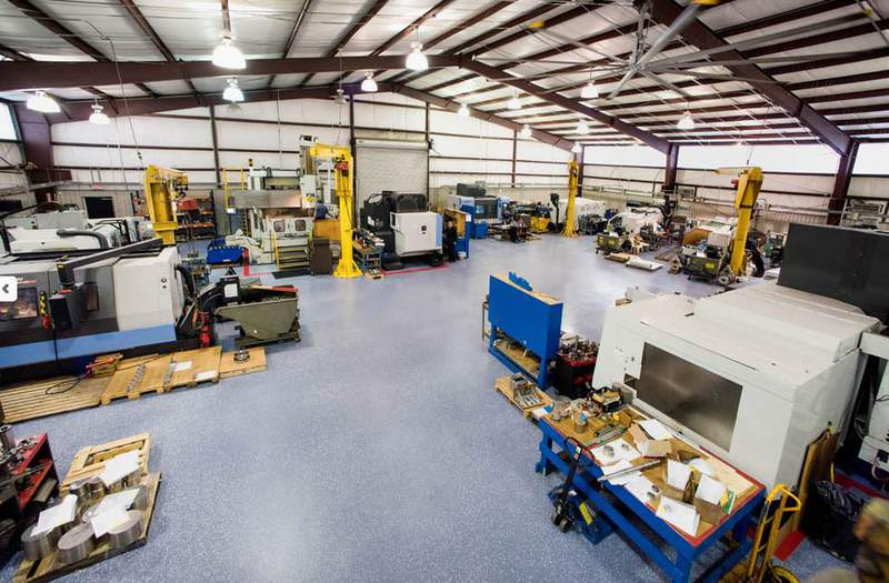 What it looks inside Watson Valve Services.