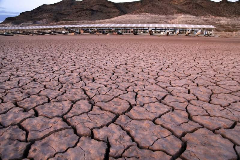 Reservoir in Mexico courtesy John Locher AP file
