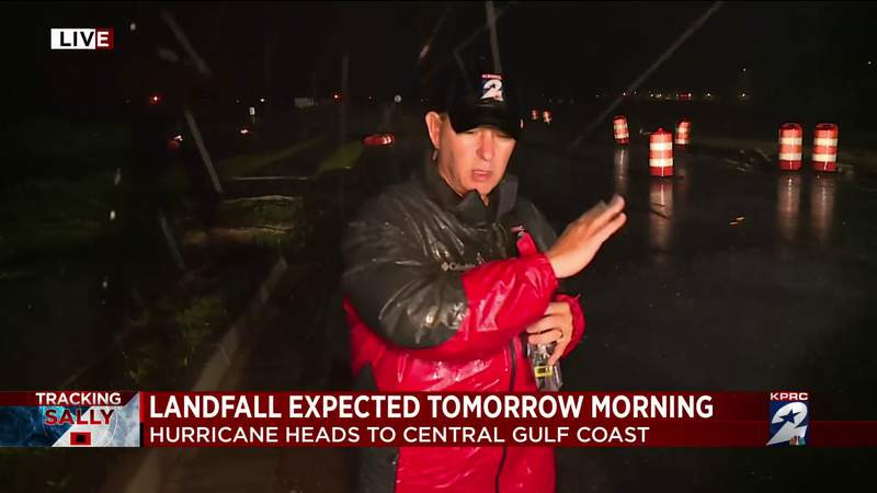 Landfall of Hurricane Sally expected Wednesday morning